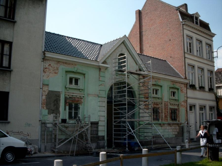 Gevelrestauratie- en renovatie - Restauratie koetshuis